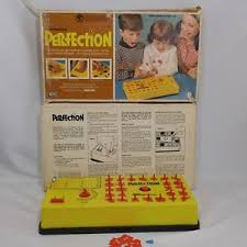 Image Is Loading Vintage Perfection Board Game 1973 Lakeside Original Box