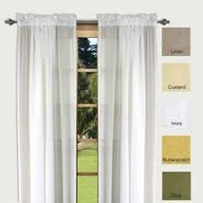 Brylane Home Curtain Panels by Brylanehome Studio Sheer Voile Grommet Panels Sheer Curtains