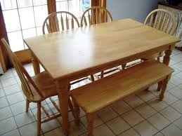 Kmart Dining Room Table Bench by Kitchen Tables With Benches U2013 Home Design And Decorating