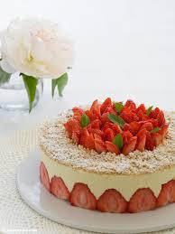 fraisier französische erdbeertorte