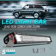 32Inch 2520W Curved Cree Led Work Light Bar Spot Flood Offroad 4WD ... 50 Curved Led Light Bar Combo 4 For 02016 Dodge Ram 1500 2500 92 5 Function Trucksuv Tailgate Brake Signal Reverse Harga Lampu Sorot Tembak Mobil Led 180 W Offroad Work 20in Straight Hidden Bumper Mounting Brackets For 03 2015 2017 F150 Paladin 180w Cree Xte Toyota Truck With Auxbeam Light Bar More Info Please Chek Out Inch 250w Spotflood 21400 Lumens Detail Feedback Questions About 7 120w Waterproof Trucks Common Installation Issues Rigid Industries Srseries Offroad Bars 60 Recon White Lightning 26416