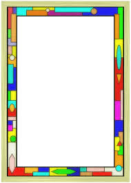 Stained Glass Border 02