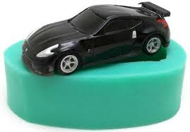 silikon 3d backform auto sportwagen fondant torte ausstechform deko geburtstag
