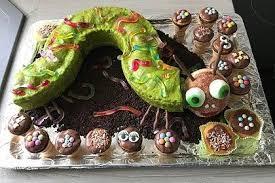 raupe nimmersatt kuchen für den kindergeburtstag