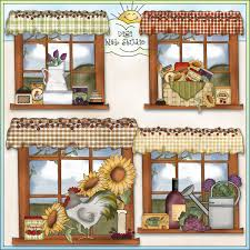 Country Clipart Borders For Kitchen