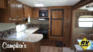 Travel Trailer Floor Plans Rear Kitchen by Campkin U0027s Presents 2017 Avenger 28rks Couples Travel Trailer W