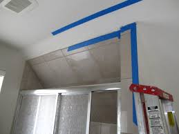 Skip Trowel Plaster Ceiling by Scarletts Swagga Venetian Plaster