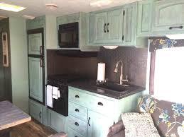 Rv Travel Trailer Remodels You Need To See Rvsharecomrhrvsharecom Kitchen Remodel U Decoredorhdecoredocom