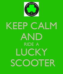 AND RIDE A LUCKY SCOOTER Lucky Scooters Wallpaper