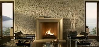 natursteinwand im wohnzimmer eine attraktive