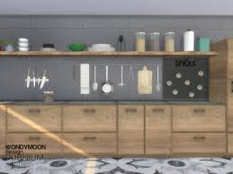 Dubnium Kitchen Decorations By Wondymoon From TSR For The Sims 4