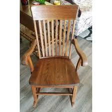 Solid Wood Antique Rocking Chair