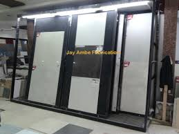 ceramic tiles display stand ambe fabrication manufacturer