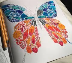 Tropical Wonderland Colouring Book TechniquesPencil ArtSecret GardensColoring BooksInsectsTropicalWonderlandButterfliesSketches