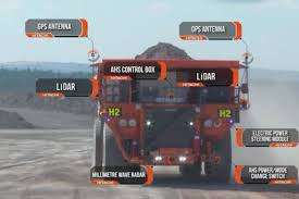 Construction Videos - Hitachi Dump Trucks Autonomous Haulage ...