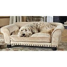 amazon com enchanted home pet dreamcatcher dog sofa 32 5 by 21