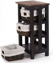 mahagoni massivholz 70x39cm telefontisch badschränkchen