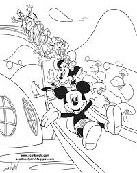 Mickey Mouse Clubhouse Coloring Pages Free 16 24 Cartoons Printable