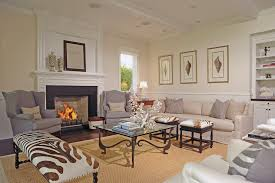 Stupendous Animal Print Cocktail Ottoman Decorating Ideas Gallery In Living Room Traditional Design