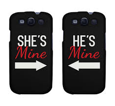 She s Mine He s Mine Matching Phone Cases for iphone 4