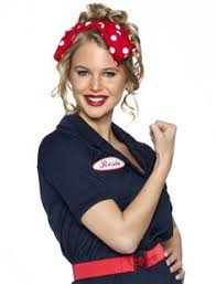 Rosie The Riveter Halloween Tutorial by Rosie The Riveter Patch Perfect For Cosplay Retro And Fun Any Name