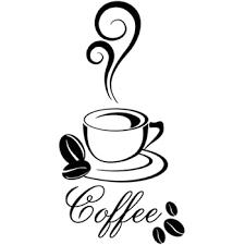 ohne kaffeebohnen wandtattoo wandaufkleber aufkleber