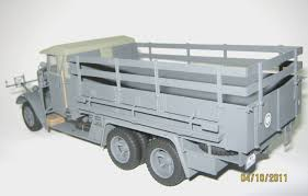100 German Trucks Henschel 33D1 WWII Army Truck ICM Holding Plastic Model Kits