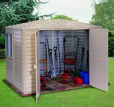 Duramax no rust resin sheds Woodbridge Sheds Mobile Home Advantage