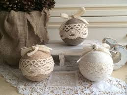 Diy Vintage Shabby Chic Tree Ornaments Rustic Christmas Decor Ideas Fun Crafts And DIY Decorations