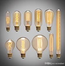 american vintage edison light bulbs tungsten wire light source