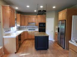 Restaining Oak Cabinets Forum by Before Oak Kitchen Refinishing Kitchen Refacing Refurbishing
