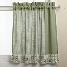 amazon com lorraine home fashions salem 60 inch x 24 inch tier