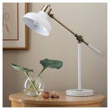 Target Fillable Lamp Base by Crosby Schoolhouse Desk Lamp White Threshold Target