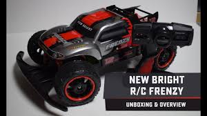 100 New Bright Rc Truck RC Frenzy X10 Brushless Stadium Unboxing And
