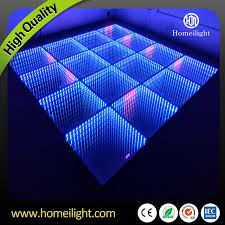 25pcs wedding tempered glass panel colorful 3d led