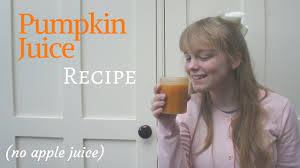 Pumpkin Juice Harry Potter Recipe by Harry Potter Pumpkin Juice Recipe Youtube