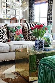 leopard print pillow cover wohnzimmer dekorieren