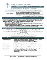 Rn Bsn Resume Template Sample New Grad Nursing Randoms
