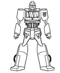 For Kids Download Robot Coloring Page 18 Your Free Book With