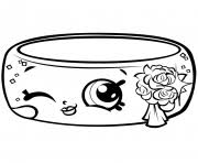 Season 7 Precious Shopkin Wedding Ring Andy Bandy Shopville Coloring Pages