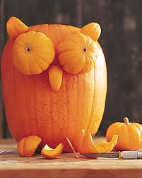 Pumpkin Carving Drill Holes by Pumpkin Owls U0026 Video Martha Stewart