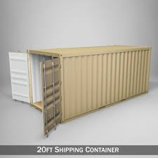 100 Shipping Container Model 20ft