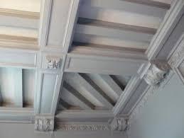 plafond a caisson suspendu le plafond à caisson faux plafonds et plafonds tendus