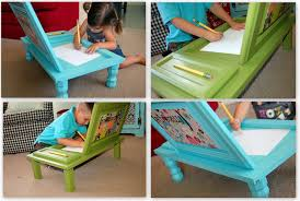 Toddler Art Desk And Chair by Art Desk For Kids Simple Art Desk Two Boards And Metal Brackets