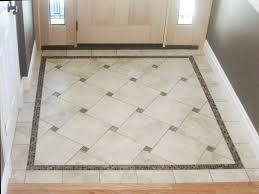 tile floor borders gallery awe dining room