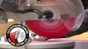 Skil Flooring Saw Home Depot by Diablo Hardie Circular Saw Blade For Pros The Home Depot Youtube