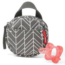 Skip Hop Foam Tiles Grey by Skip Hop Grab And Go Pacifier Pocket Grey Feather Toys