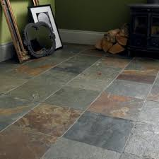 awesome slate tiles slate floor tiles black fired earth