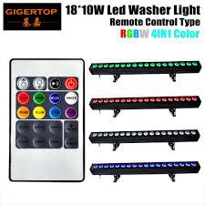 tiptop 4xlot 18x10w rgbw led light cabinet 100cm 4in1