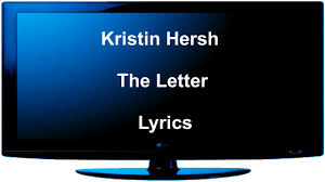 Kristin Hersh The Letter Lyrics Genius Lyrics